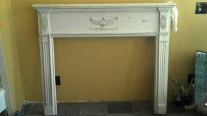 colonial fireplace