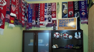 That's more like it! The soccer shrine coming together.